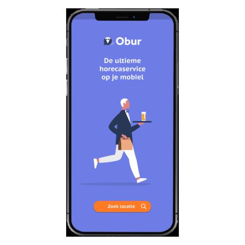 obur QR bestel app